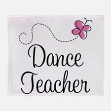 Dance Teacher Throw Blanket