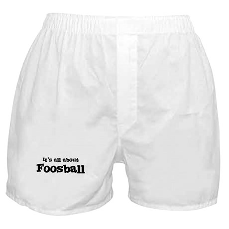 All about Foosball Boxer Shorts