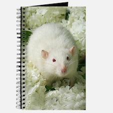 Knightley White Flowers Journal