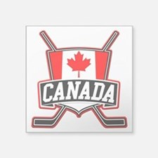 Canadian Hockey Shield Logo Sticker