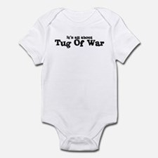 All about Tug Of War Infant Bodysuit