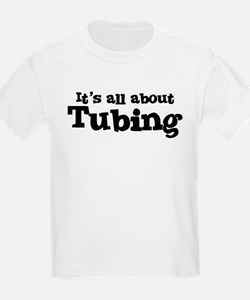 All about Tubing Kids T-Shirt