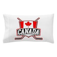 Canadian Hockey Shield Logo Pillow Case
