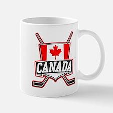 Canadian Hockey Shield Logo Small Mugs