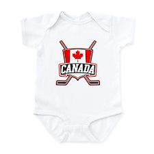 Canadian Hockey Shield Logo Body Suit