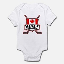 Canadian Hockey Shield Logo Body Suit