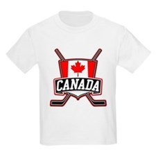 Canadian Hockey Shield Logo T-Shirt