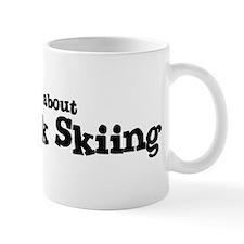 All about Telemark Skiing Mug
