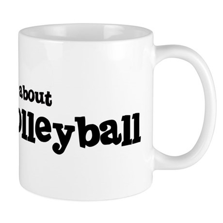 All about Beach Volleyball Mug