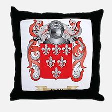 Irish Coat of Arms (Family Crest) Throw Pillow