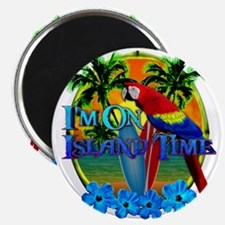 """Island Time Surfing 2.25"""" Magnet (10 pack)"""