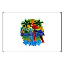 Island Time Surfing Banner