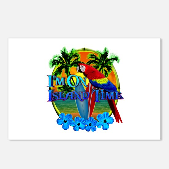 Island Time Surfing Postcards (Package of 8)