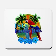 Island Time Surfing Mousepad