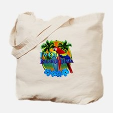 Island Time Surfing Tote Bag