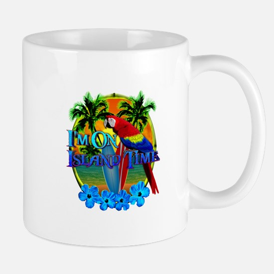 Island Time Surfing Mug