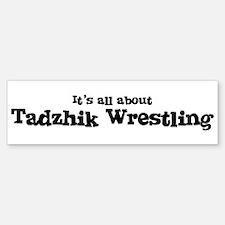 All about Tadzhik Wrestling Bumper Bumper Bumper Sticker