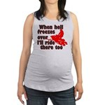 Hell Freezes Over Maternity Tank Top