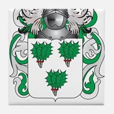 Irvin Coat of Arms (Family Crest) Tile Coaster