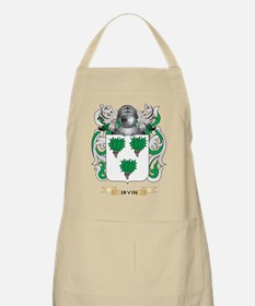 Irvin Coat of Arms (Family Crest) Apron