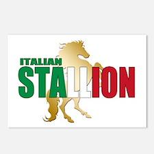 Italian Stallion Postcards (Package of 8)