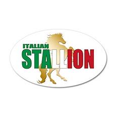 Italian Stallion Wall Decal