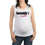 snowwidow332bm.png Maternity Tank Top