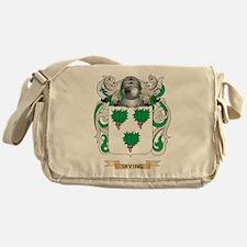 Irving Coat of Arms (Family Crest) Messenger Bag