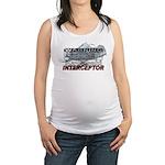 Interceptor Warning II Maternity Tank Top