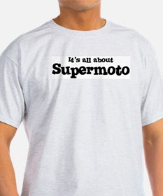 All about Supermoto Ash Grey T-Shirt