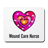 Wound care nurse Mouse Pads