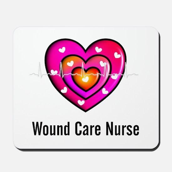 Wound Care Nurse Mousepad