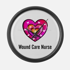 Wound Care Nurse Large Wall Clock