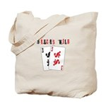 Deuces.png Tote Bag