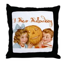 I hear Halloween Throw Pillow