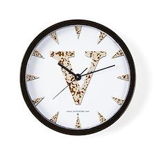 Tortoise Shell v Wall Clock