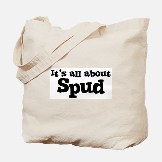 All about Spud Tote Bag