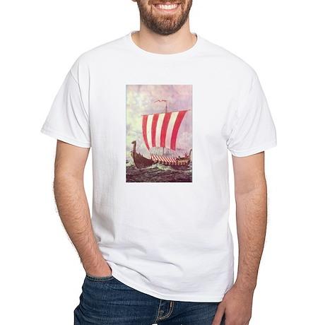 ..00 COLOR PRINT LEIF ERIC VIK SHIP FULL T-Shirt