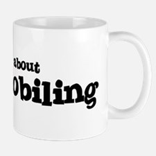 All about Snowmobiling Mug