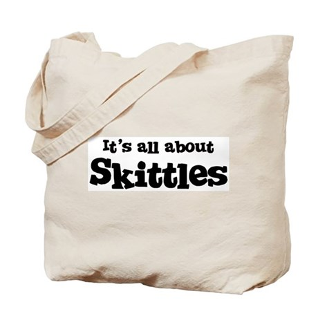 All about Skittles Tote Bag