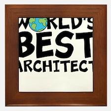 World's Best Architect Framed Tile