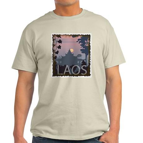 Vintage Laos Ash Grey T-Shirt
