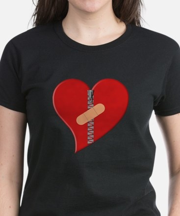 Healing Heart Women's Dark T-Shirt