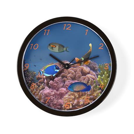 Reef Wall Clock