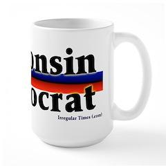 Wisconsin Democrat Big Mug