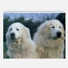 Great Pyrenees Wall Calendar Vi