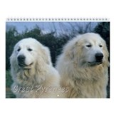 Pyrenean mountain dog Calendars