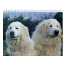 Great Pyrenees Wall Calendar Vi, 2016