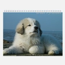 Great Pyrenees Ii#3 Wall Calendar
