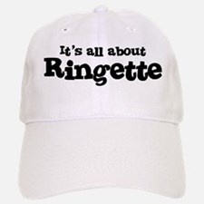 All about Ringette Baseball Baseball Cap